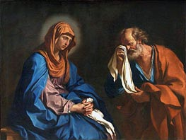 The Tears of St. Peter | Guercino | Painting Reproduction