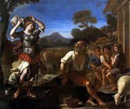 Erminia and the Shepherds | Guercino | Painting Reproduction