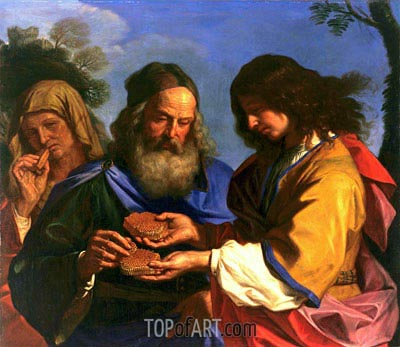 Samson and the Honeycomb, 1659 | Guercino | Painting Reproduction