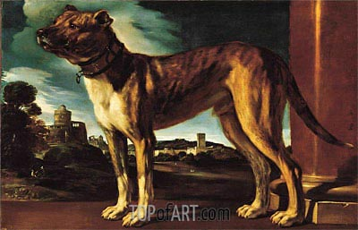 Aldrovandi Dog, c.1625 | Guercino | Painting Reproduction