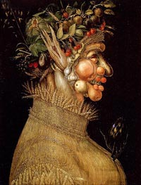 Summer, 1563 by Arcimboldo | Painting Reproduction
