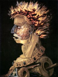 Fire | Arcimboldo | Painting Reproduction