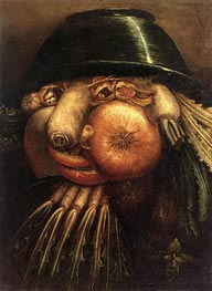 Vegetable Gardener | Arcimboldo | Painting Reproduction
