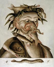 An Allegory of Water, undated von Arcimboldo | Gemälde-Reproduktion