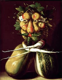 Whimsical Portrait | Arcimboldo | Painting Reproduction