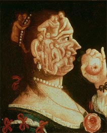 Portrait of Eve | Arcimboldo | Painting Reproduction