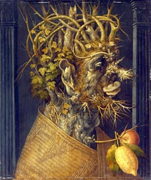 Winter | Arcimboldo | Painting Reproduction
