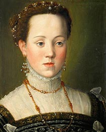 Archduchess Anna of Austria, Queen of Spain, c.1569 by Arcimboldo | Painting Reproduction