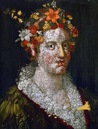 Flora, 1591 by Arcimboldo | Painting Reproduction