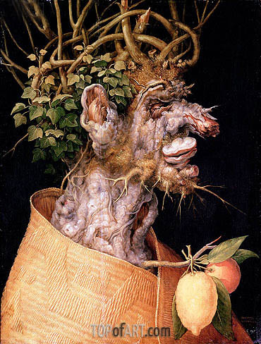 Winter, 1563 | Arcimboldo | Gemälde Reproduktion