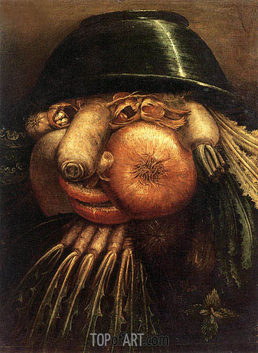 Vegetable Gardener, c.1590 | Arcimboldo | Painting Reproduction