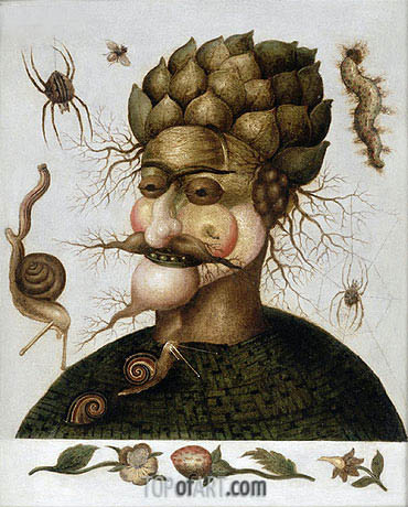 The Allegory of Earth, undated | Arcimboldo | Painting Reproduction