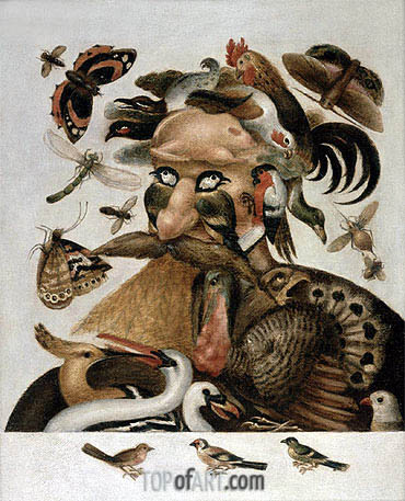 An Allegory of Air, undated | Arcimboldo | Painting Reproduction