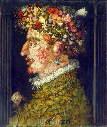 Spring, c.1598 | Arcimboldo | Painting Reproduction