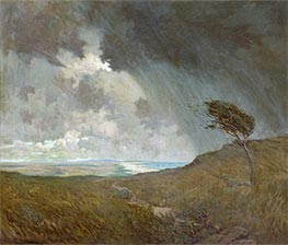 Coastal Storm, 1905 by Granville Redmond | Painting Reproduction