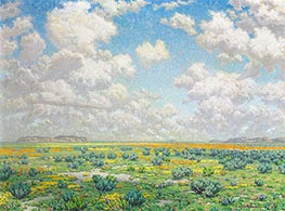 Spring - Antelope Valley, 1932 by Granville Redmond | Painting Reproduction