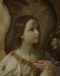 Angel of the Annunciation, undated von Guido Reni | Gemälde-Reproduktion
