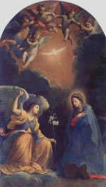 The Annunciation, 1610 von Guido Reni | Gemälde-Reproduktion