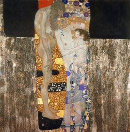 The Three Ages of Woman | Klimt | Painting Reproduction