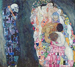 Death and Life | Klimt | Painting Reproduction
