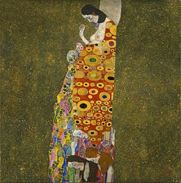 Hope II | Klimt | Painting Reproduction