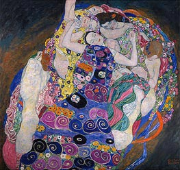 The Virgin (The Maiden), 1913 by Klimt | Painting Reproduction