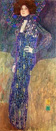 Portrait of Emilie Floge | Klimt | Painting Reproduction