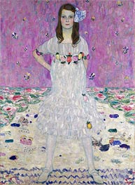 Portrait of Mada Primavesi | Klimt | Painting Reproduction