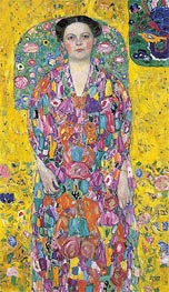 Portrait of Eugenia Primavesi, c.1913/14 by Klimt | Painting Reproduction