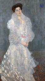 Portrait of Hermine Gallia, 1904 by Klimt | Painting Reproduction