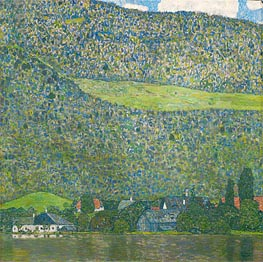 Attersee, 1915 by Klimt | Painting Reproduction