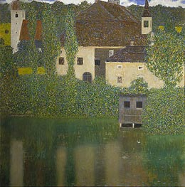 Kammer Castle at Attersee I | Klimt | Painting Reproduction