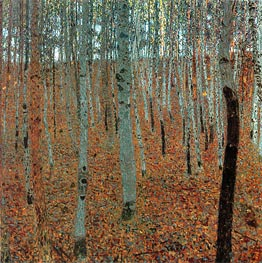 Beech Forest I (Buchenwald) | Klimt | Painting Reproduction