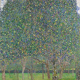 Pear Tree, 1903 by Klimt | Painting Reproduction