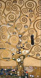 Tree of Life - Centre Portion (Stoclet Frieze), c.1905/06 by Klimt | Painting Reproduction