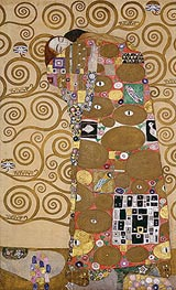 Fulfilment (Stoclet Frieze), c.1905/06 by Klimt | Painting Reproduction