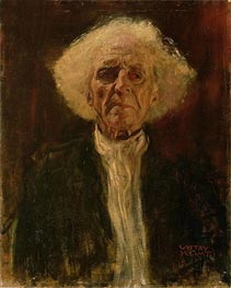 Study of the Head of a Blind Man, Undated by Klimt | Painting Reproduction