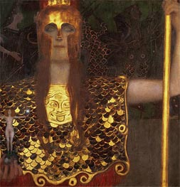 Pallas Athena, 1898 by Klimt | Painting Reproduction