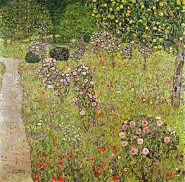 Orchard with Roses, c.1911/12 by Klimt | Painting Reproduction