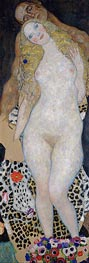 Adam and Eve, c.1917/18 by Klimt | Painting Reproduction