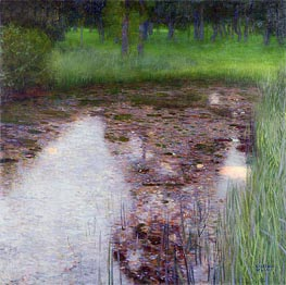 The Swamp | Klimt | Gemälde Reproduktion