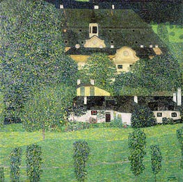 Kammer Castle at Attersee II | Klimt | Painting Reproduction