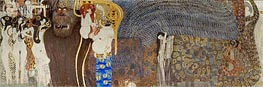 The Hostile Powers (The Beethoven Frieze), 1902 by Klimt | Painting Reproduction