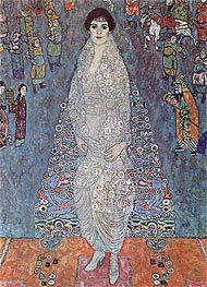Portrait of Baroness Elizabeth Bachofen-Echt, c.1915/16 by Klimt | Painting Reproduction