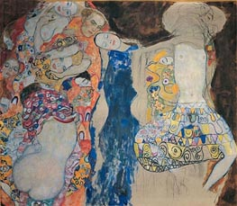 The Bride, 1918 by Klimt | Painting Reproduction