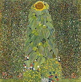 The Sunflower | Klimt | Gemälde Reproduktion