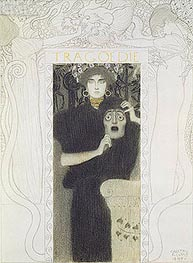 Tragedy, 1897 by Klimt | Painting Reproduction
