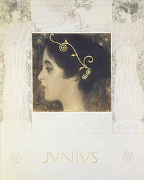 Junius, 1896 by Klimt | Painting Reproduction