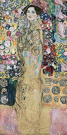 Portrait of a Woman (Ria Munk), c.1917/18 by Klimt | Painting Reproduction