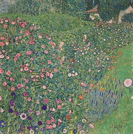 Italian Garden Landscape | Klimt | Painting Reproduction